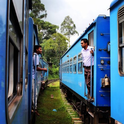 Train to Hatton, Sri Lanka