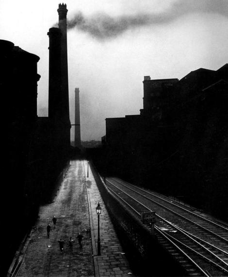 Bill Brandt: Halifax, 1937 - smoke drawn into shot