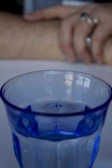 BLUE GLASS DETAIL
