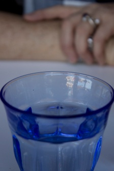 BLUE GLASS DETAIL