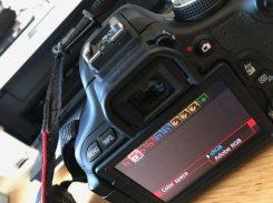 Colour Space Settings SRGB or Adobe RGB