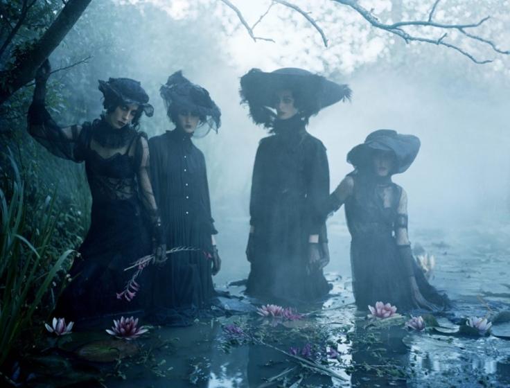 Fashion shoot by Tim Walker for Italian Vogue
