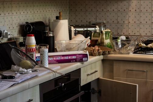 Kitchen aftermath